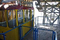 Cable car station Stock Photography