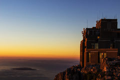 Cable Car Station on Table Mountain Stock Photos