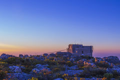 Cable Car Station At Top of Table Mountain 1 Stock Photos