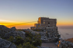 Cable Car Station At Top of Table Mountain 2 Stock Image
