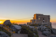 Cable Car Station At Top of Table Mountain 3 Royalty Free Stock Photos