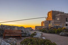 Cable Car Station At Top of Table Mountain 4 Stock Photos