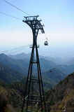 Cable Car Support structure Royalty Free Stock Images
