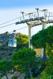 Cable car system Royalty Free Stock Image