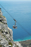 Cable Car at Table Mountain Stock Photo