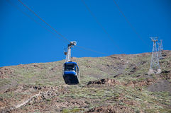 Cable car Teide Royalty Free Stock Image