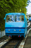 The cable car to the bottom station in the center of Kiev. Royalty Free Stock Photography