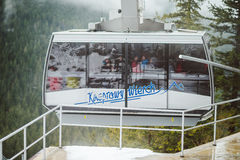 The cable car to Kasprowy Wierch stock photos