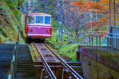 Cable Car to Mt. Koya Royalty Free Stock Photo