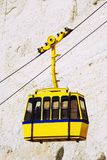 Cable car to Rosh HaNikra grotto in Israel. Cable car to Rosh HaNikra grotto in North Israel Royalty Free Stock Photography