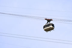 Cable car to Sugar Loaf Royalty Free Stock Image