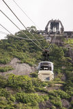 Cable car to Sugar Loaf - Rio de Janeiro Royalty Free Stock Images