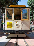 Cable car tram in San Francisco, USA Stock Images