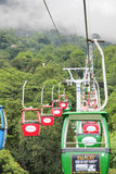 Cable car in Vietnam Royalty Free Stock Images