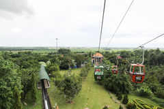 Cable car in Vietnam Stock Photo