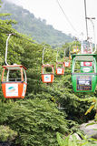 Cable car in Vietnam Stock Image