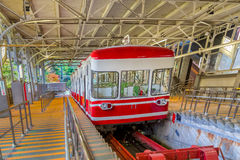 Cable Car in Wakayama, Japan Stock Photo