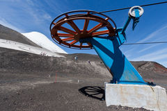Cable Car Wheel Osorno Volcano Chile Royalty Free Stock Images