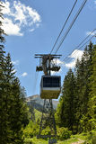 Cable car, Zakopane, Poland. Cable car in Kasprowy Wierch peak in Tatra mountains, in the Western Tatras, Zakopane, Poland Stock Photography