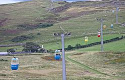 Cable Cars. Stock Image
