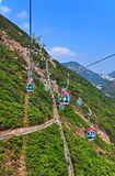 Cable cars Stock Image