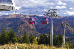 Cable cars Royalty Free Stock Photos