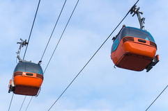 Cable cars Royalty Free Stock Photo