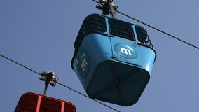 Cable Cars, Mass Transit, Public Transportation stock video