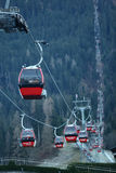 Cable cars Stock Images