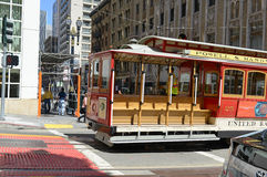 Cable Cars in San Francisco, California Royalty Free Stock Image