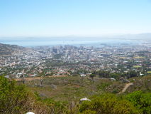 Cable Cars Table Mountain Cape Town Royalty Free Stock Photography
