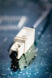 Cable close-up Royalty Free Stock Photo
