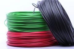 Cable colorido Imagen de archivo libre de regalías