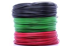 Cable colorido Fotografía de archivo