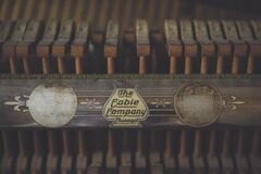 The Cable Company typewriter ribbon Stock Images