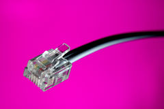 Cable connection Royalty Free Stock Photo