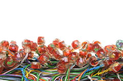 Cable connection Stock Image