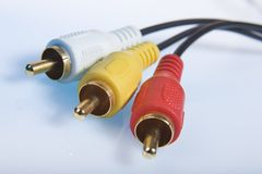 Cable connector Stock Image