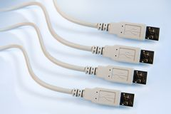Cable Connector Royalty Free Stock Photography