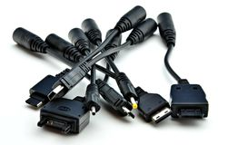 Cable connectors Stock Image
