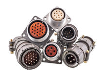 Cable Connectors Royalty Free Stock Photos