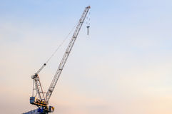 Cable crane Royalty Free Stock Image