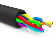 The cable Royalty Free Stock Image