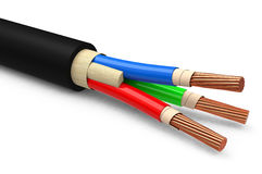 The cable Royalty Free Stock Photos