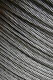 Cable de acero Imágenes de archivo libres de regalías