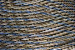 Cable de acero Imagenes de archivo