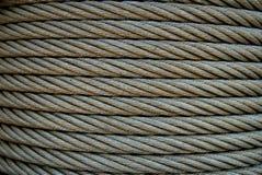 Cable de acero Fotos de archivo
