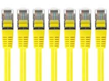 Cable de Ethernet fotografía de archivo