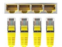 Cable de Ethernet fotos de archivo libres de regalías
