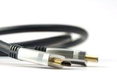 Cable de HDMI fotos de archivo